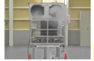 エリア空調機デモ